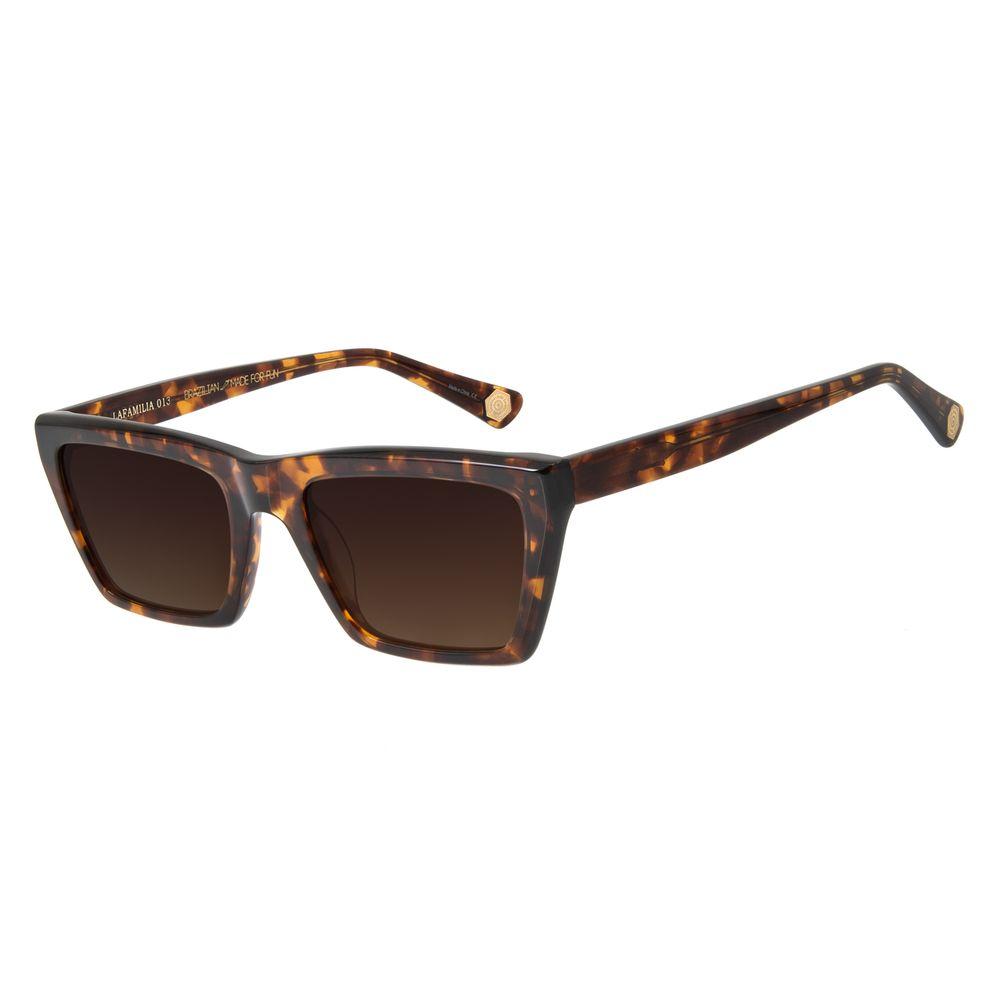 Óculos De Sol Feminino Charlie Brown Jr Street Fashion Tartaruga OC.CL.2800-5706