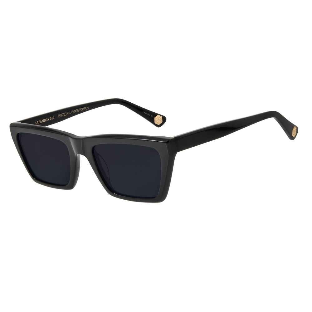 Óculos De Sol Feminino Chilli Beans Charlie Brown Jr Street Fashion PretoOC.CL.2800-0501