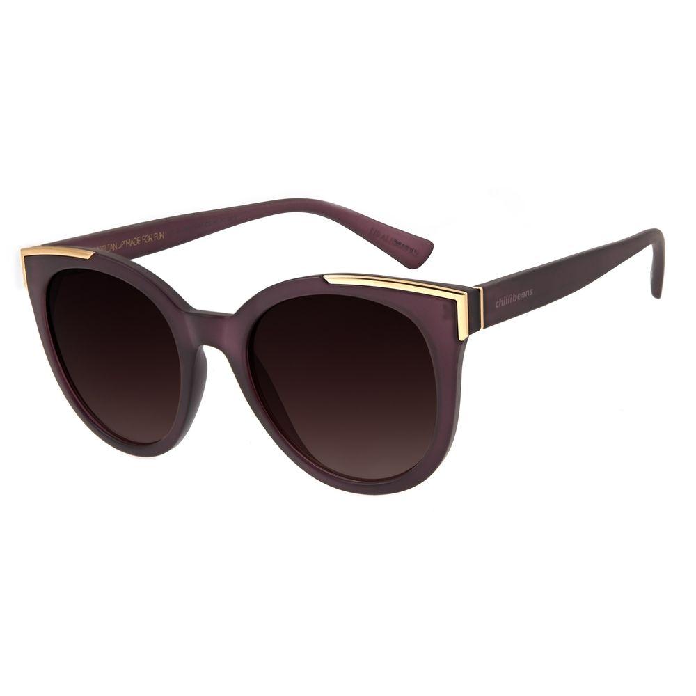 Óculos De Sol Feminino Charlie Brown Jr