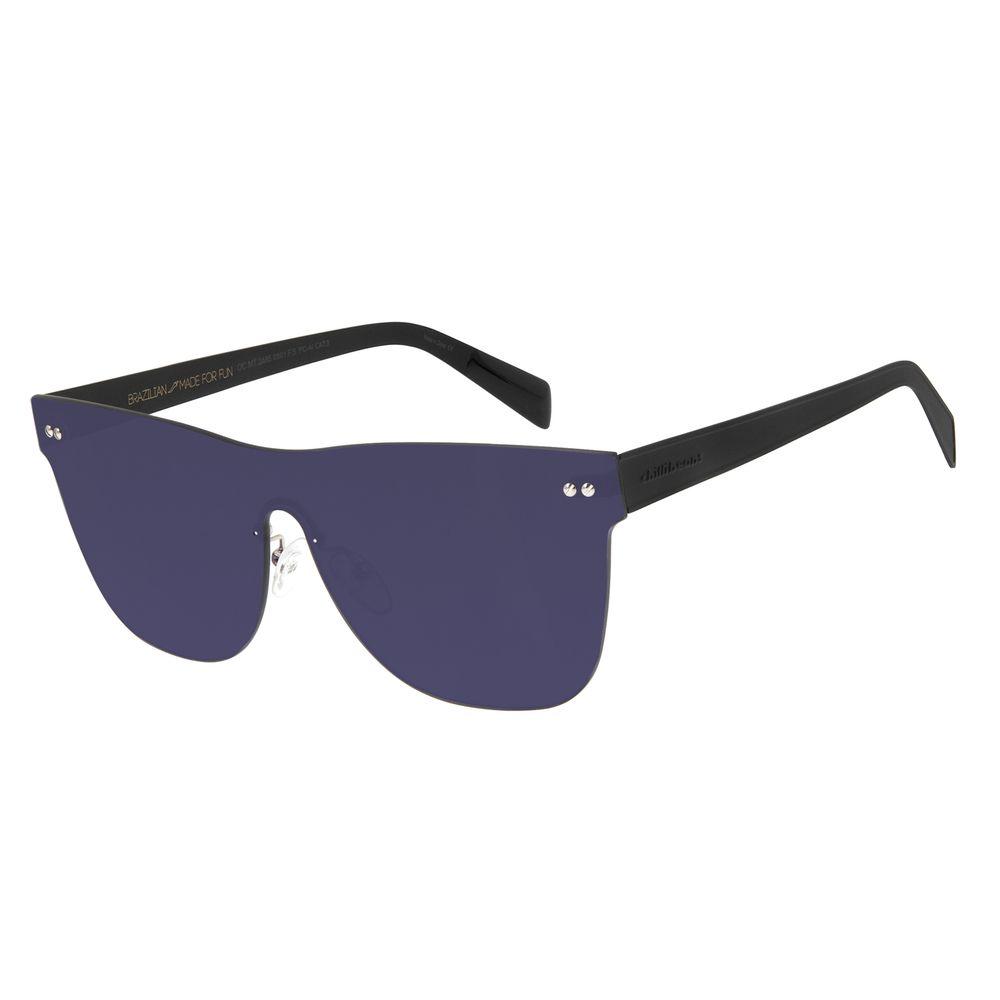 Óculos de Sol Unissex Double Lenses Fumê OC.MT.2486-0501