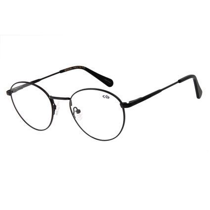 Armação Para Óculos de Grau Unissex Chilli Beans Preto Brilho LV.MT.0328-3030