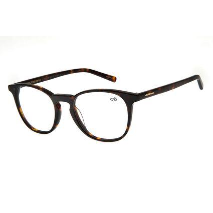 Armação Para Óculos Grau Unissex Chilli Beans Multi Redondo Tartaruga LV.MU.0155-2006