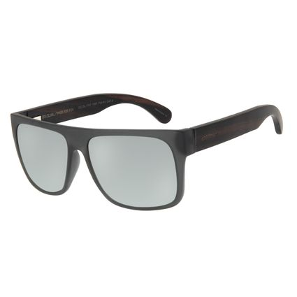 Óculos De Sol Masculino Chilli Beans Quadrado Preto OC.CL.1747-1501