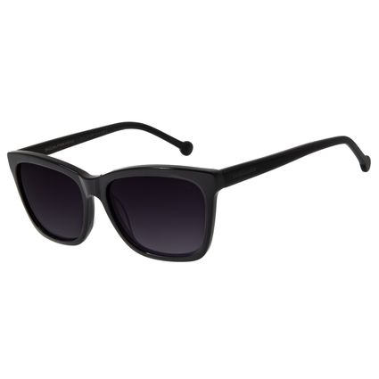 Óculos De Sol Feminino Chilli Beans Quadrado Basic Preto OC.CL.2711-2001