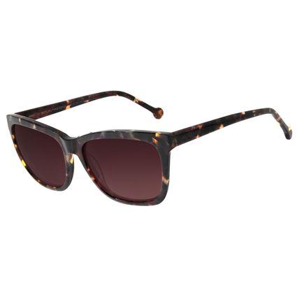 Óculos De Sol Feminino Chilli Beans Quadrado Tartaruga OC.CL.2711-0206