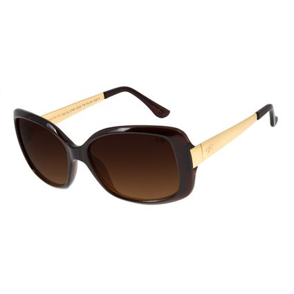 Óculos De Sol Feminino Chilli Beans Borboleta Marrom OC.CL.2760-0202