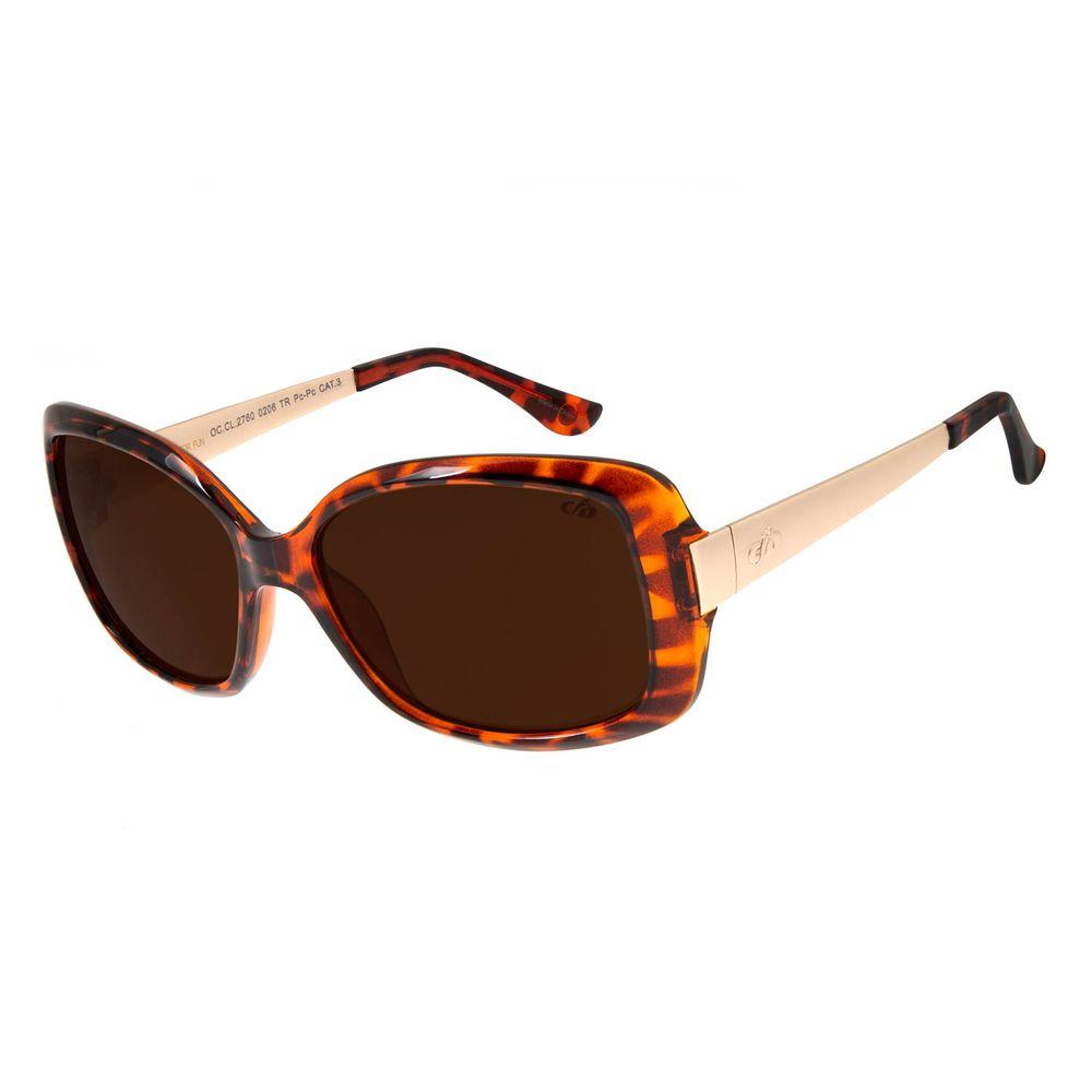 Óculos De Sol Feminino Chilli Beans Borboleta Tartaruga OC.CL.2760-0206