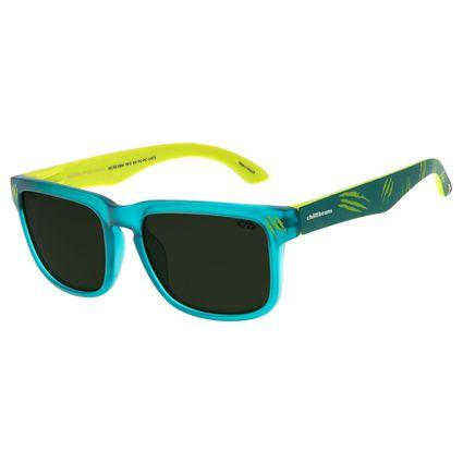 Óculos De Sol Infantil Chilli Beans Bossa Nova Verde OC.KD.0594-1515