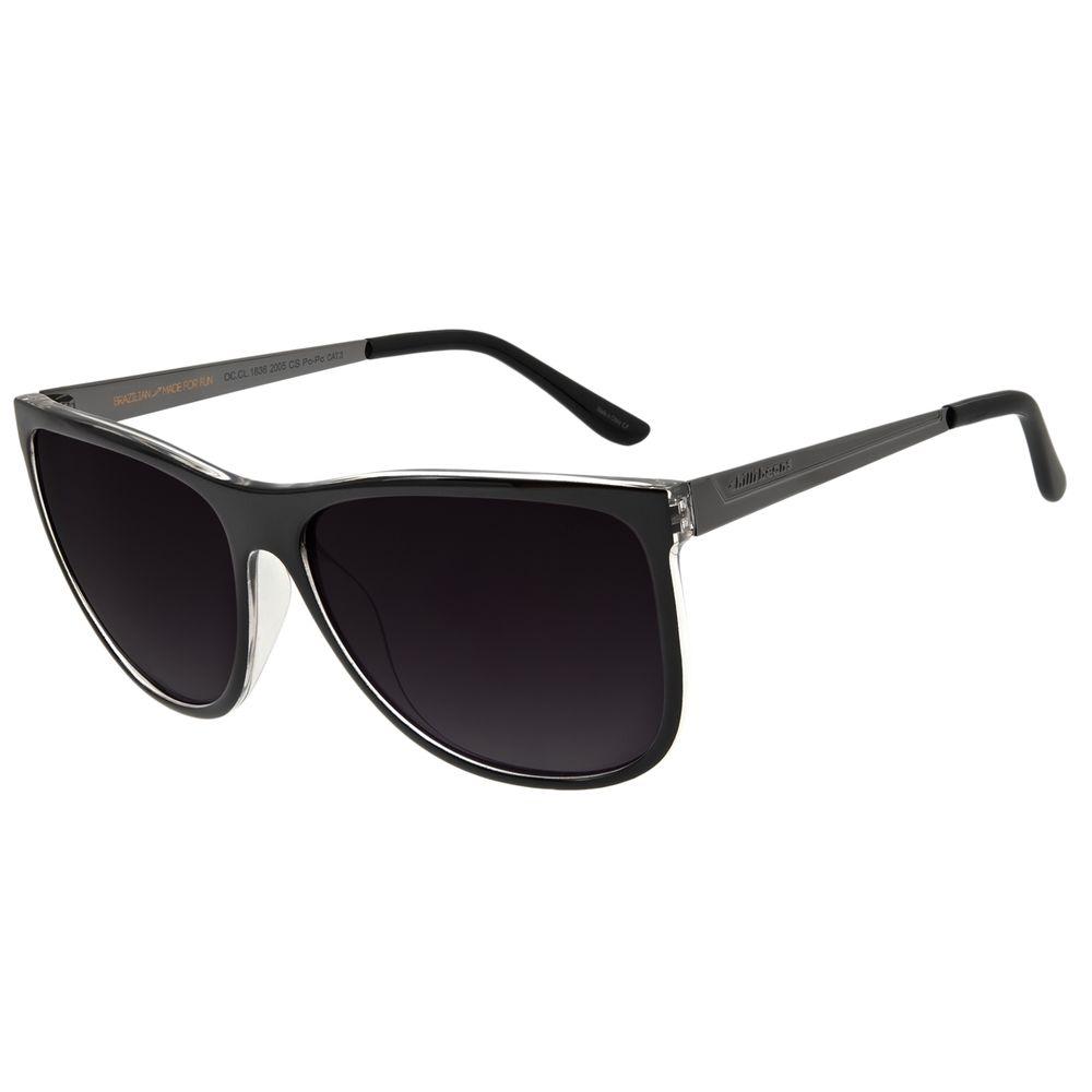 Óculos De Sol Feminino Chilli Beans Quadrado Fumê OC.CL.1836-2005
