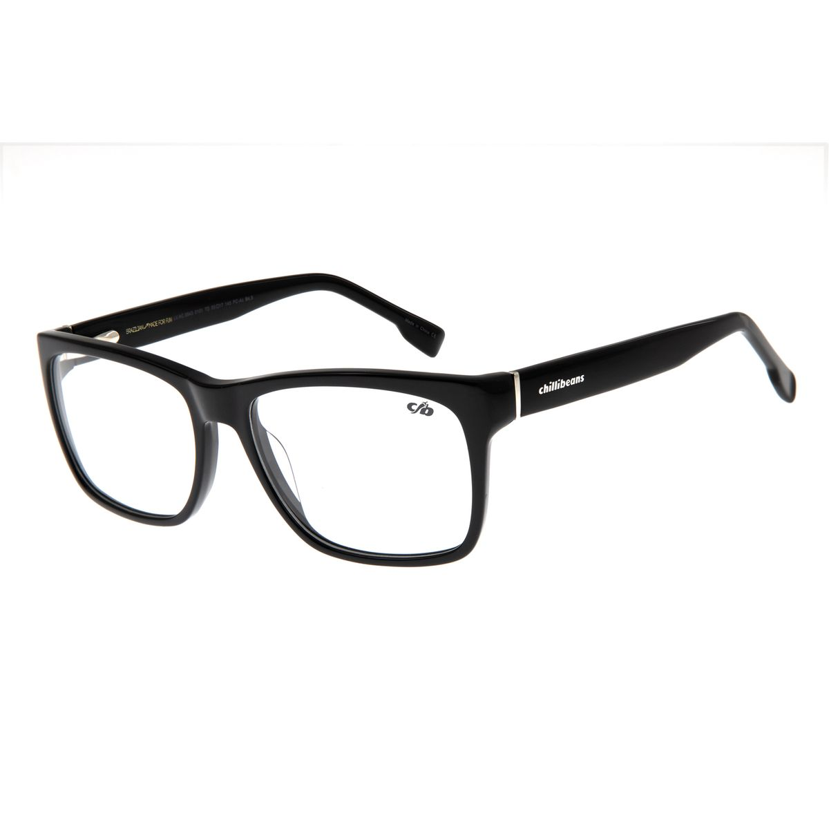 Armação Para óculos De Grau Masculino Chilli Beans Quadrado