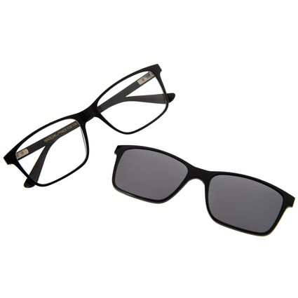 Armação Para Óculos De Grau Masculino Chilli Beans Multi Preto LV.MU.0232-0401