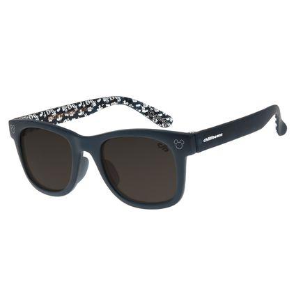Óculos De Sol Infantil Baby Mickey Mouse Quadrado Azul OC.KD.0606-0108