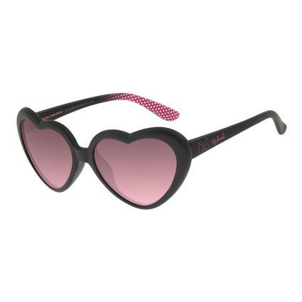 Óculos de Sol Infantil Disney Minnie Love Preto OC.KD.0615-2001