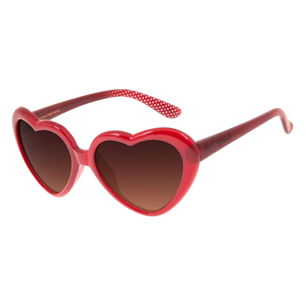 Óculos de Sol Infantil Disney Minnie Love Vermelho OC.KD.0615-5716