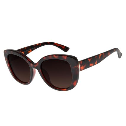 Óculos De Sol Feminino Chilli Beans Quadrado Tartaruga OC.CL.2788-5706