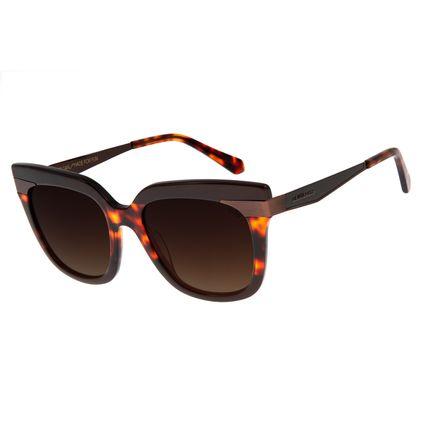 Óculos De Sol Feminino Chilli Beans Quadrado Tartaruga OC.CL.2815-5706