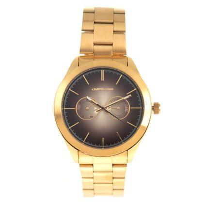 Relógio Analógico Masculino Chilli Beans Metal Dourado RE.MT.0901.2121