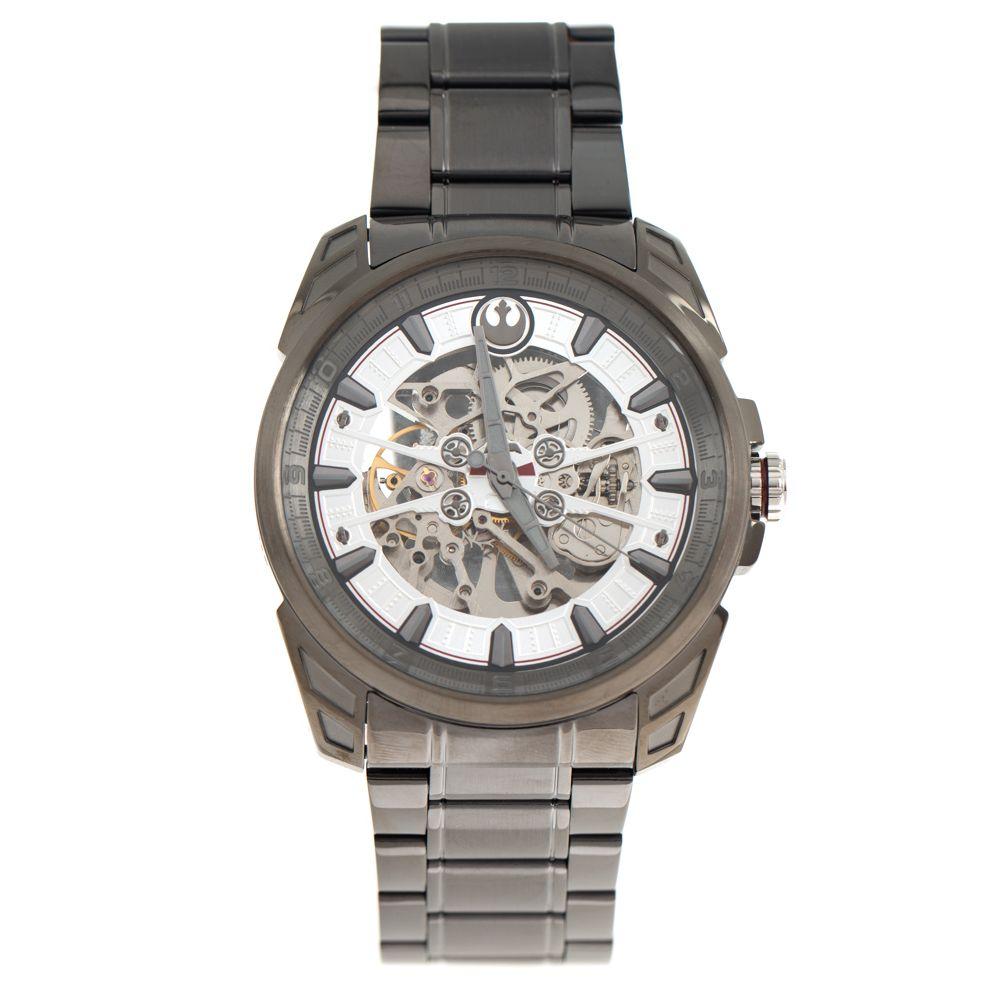 Relógio Automático Masculino Star Wars Luke Skywalker Ônix RE.MT.0856-2222