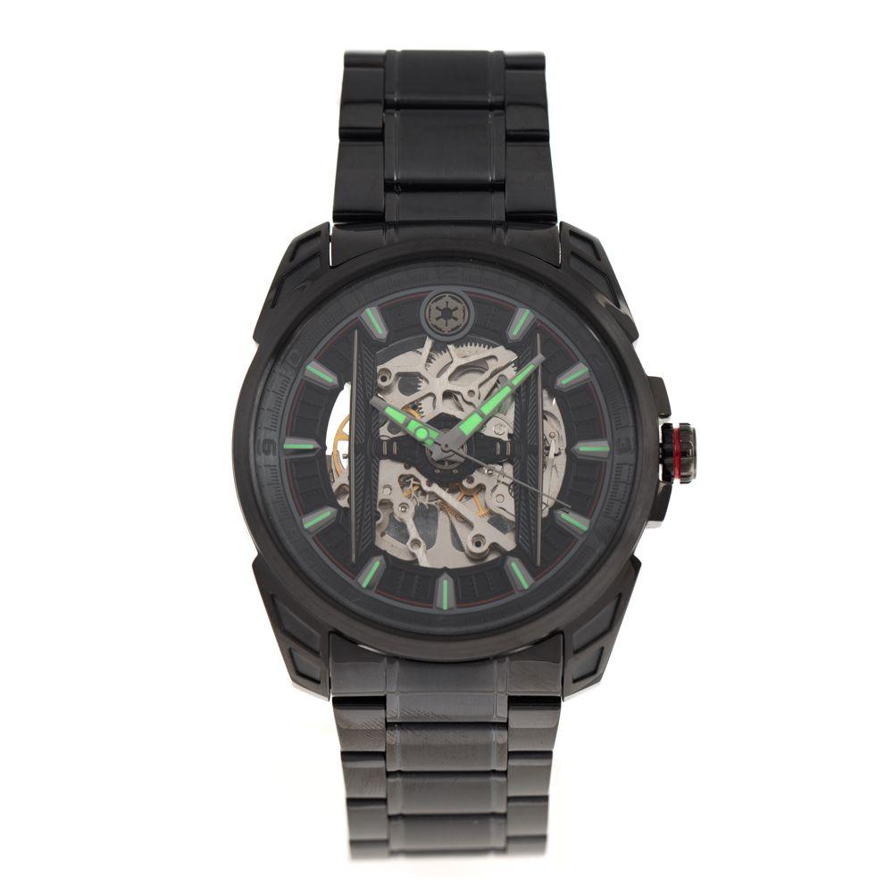 Relógio Automático Masculino Star Wars Luke Skywalker Preto RE.MT.0856-0101
