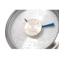 Relógio Analógico Feminino Star Wars R2-D2 Metal Prata RE.MT.0857-0707.6