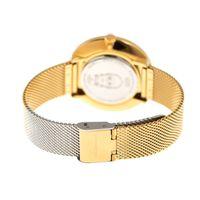 Relógio Analógico Feminino Star Wars C-3PO Dourado RE.MT.0857-2121.2