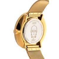 Relógio Analógico Feminino Star Wars C-3PO Dourado RE.MT.0857-2121.8