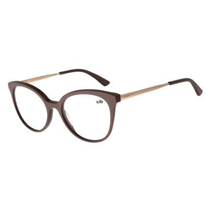 Armação Para Óculos De Grau Feminino Chilli Beans Dourado LV.AC.0526-2321