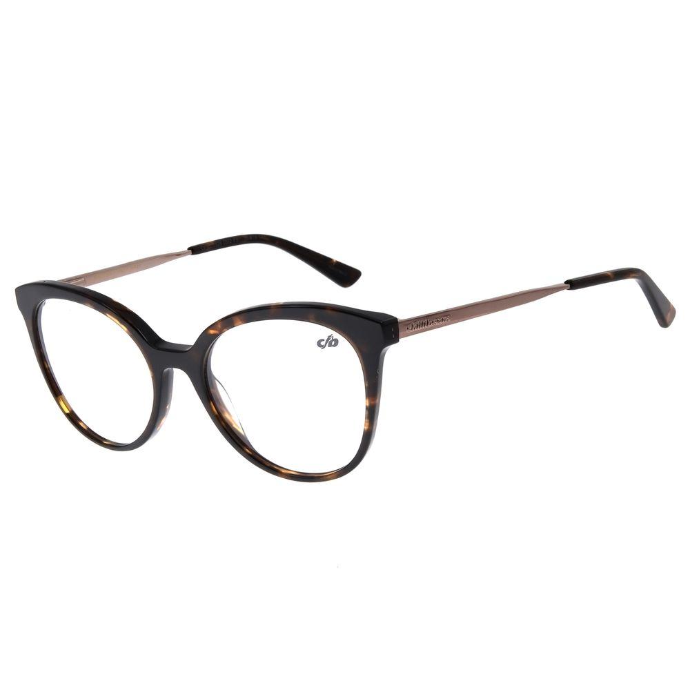 Armação Para Óculos De Grau Feminino Chilli Beans Tartaruga LV.AC.0526-0602