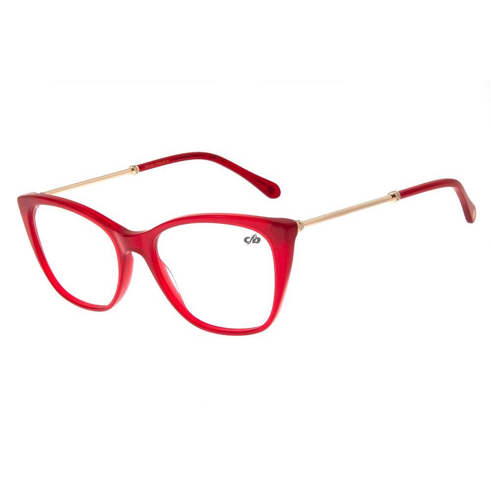 Armação Para Óculos De Grau Feminino Chilli Beans Vermelho LV.AC.0527-1621