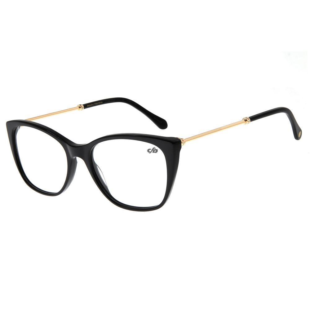 Armação Para Óculos De Grau Feminino Chilli Beans Dourado LV.AC.0527-0121