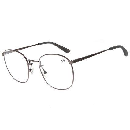 Armação Para Óculos De Grau Unissex Chilli Beans Metal Marrom LV.MT.0355-2424