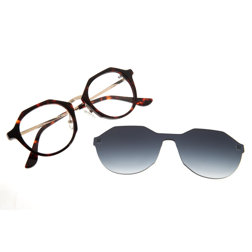 Armação Para Óculos De Grau Feminino Chilli Beans Multi Tartaruga LV.MU.0201-2006