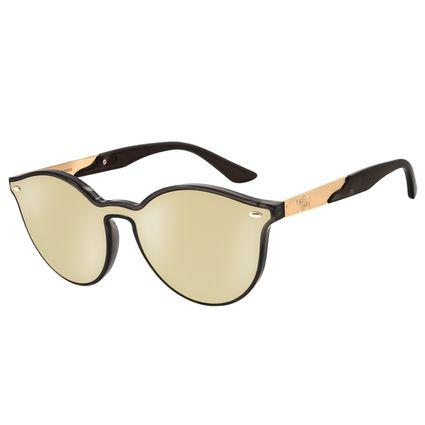 Óculos De Sol Feminino Star Wars Estrela da Morte Dourado OC.CL.2828-2101