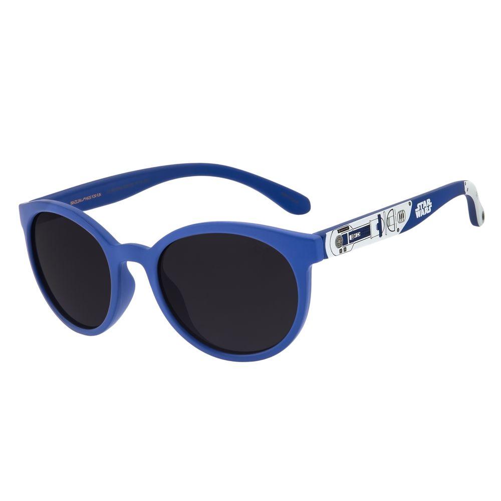 Óculos De Sol Infantil Star Wars R2-D2 Azul OC.KD.0619-0108