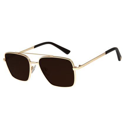 Óculos De Sol Masculino Star Wars Millennium Falcon Dourado OC.MT.2688-2102