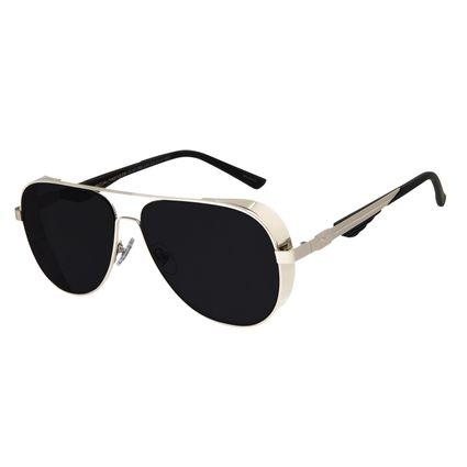 Óculos De Sol Unissex Star Wars Poe Dameron Prata OC.MT.2695-0107