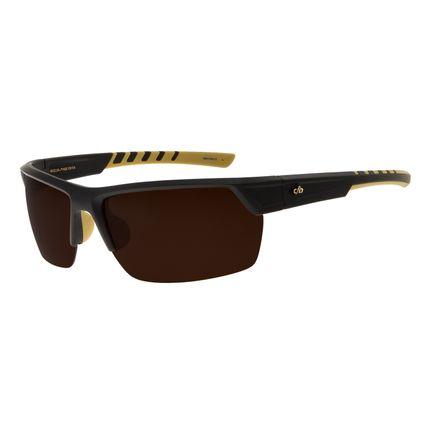 Óculos De Sol Masculino Chilli Beans Esportivo Marrom OC.ES.1154-0204