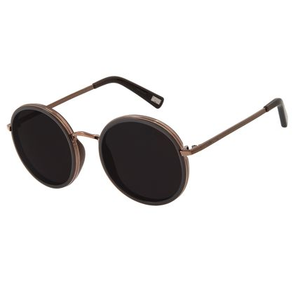 Óculos De Sol Feminino Star Wars Princesa Leia Marrom OC.CL.2872-0102