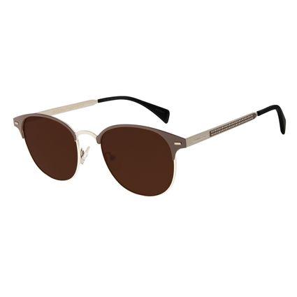 Óculos De Sol Unissex Star Wars Chewbacca Marrom OC.MT.2689-0202