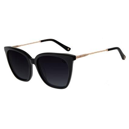 Óculos De Sol Feminino Chilli Beans Quadrado Preto OC.CL.2817-2001