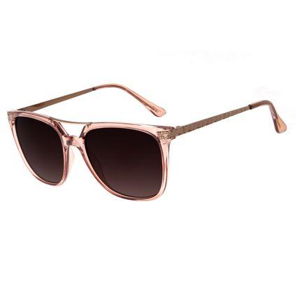 Óculos De Sol Feminino Chilli Beans Quadrado Marrom OC.CL.2206-5702
