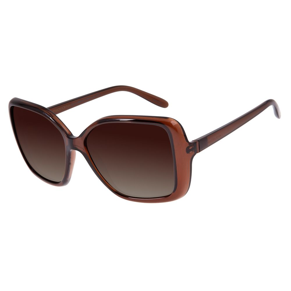 Óculos de Sol Feminino Chilli Beans Quadrado Vinho Polarizado OC.CL.2808-5717