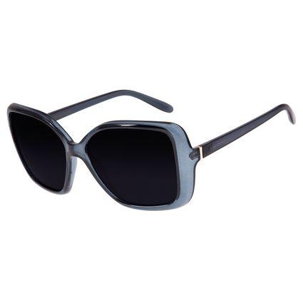 Óculos de Sol Feminino Chilli Beans Quadrado Preto Polarizado OC.CL.2808-0101