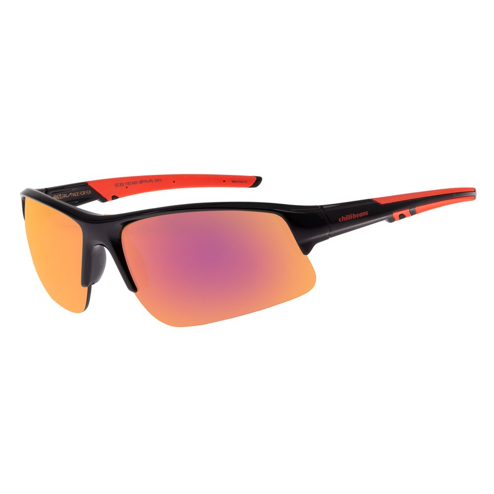 Óculos de Sol Masculino Chilli Beans Esportivo Espelhado OC.ES.1153-9201