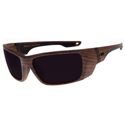 Óculos de Sol Masculino Chilli Beans Esportivo Madeira  OC.ES.1174-0161