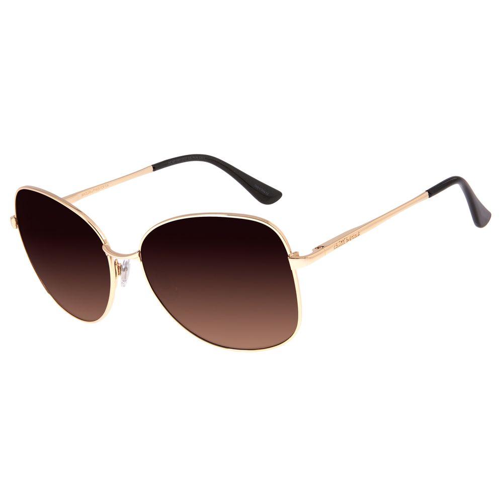 Óculos de Sol Feminino Chilli Beans Quadrado DouradoOC.MT.1961-5721