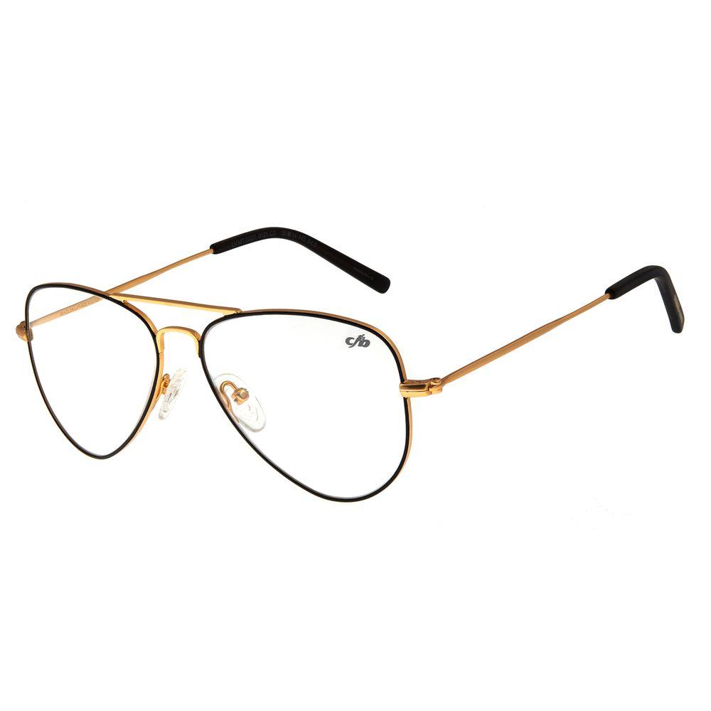 Armação Para Óculos De Grau Unissex Chilli Beans Preta LV.MT.0327-0121