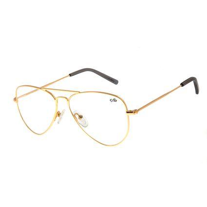 Armação Para Óculos De Grau Unissex Chilli Beans Dourada LV.MT.0327-2121