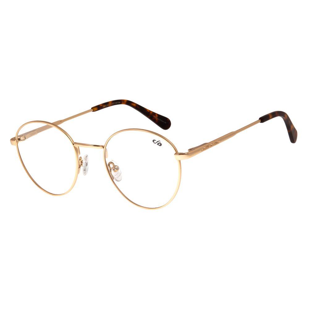 Armação Para Óculos De Grau Unissex Chilli Beans Metal Fosco LV.MT.0328-3131