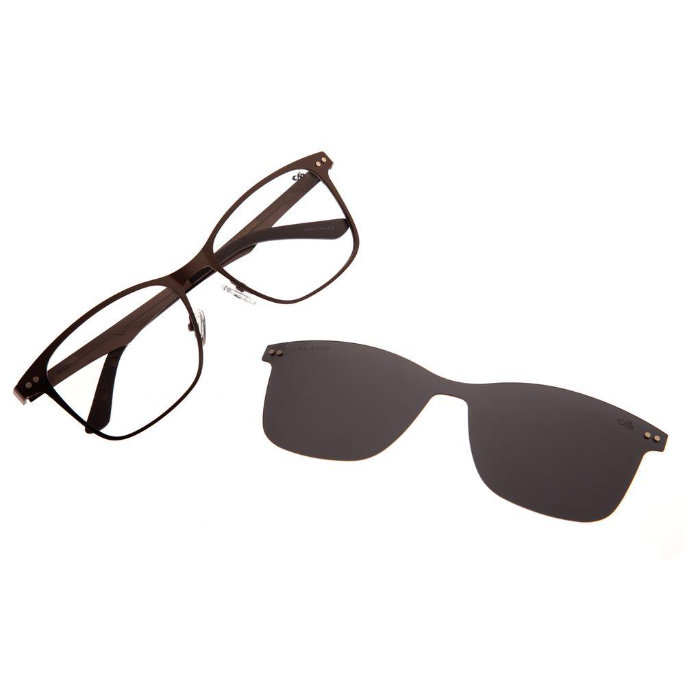 Armação Para Óculos De Grau Masculino Chilli Beans Multi Verde Escuro LV.MU.0197-0126